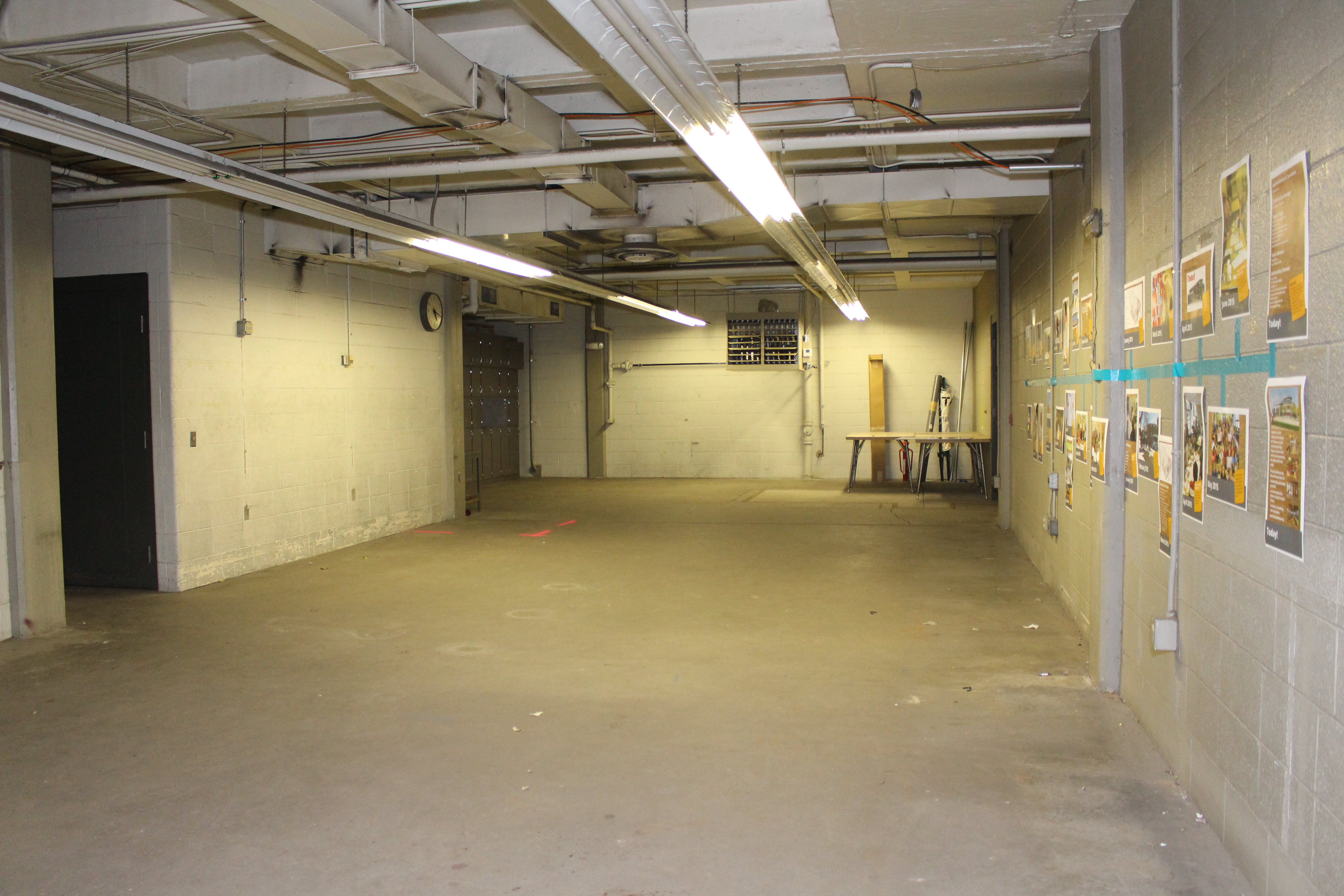 First floor press room