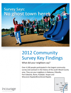 community survey key findings
